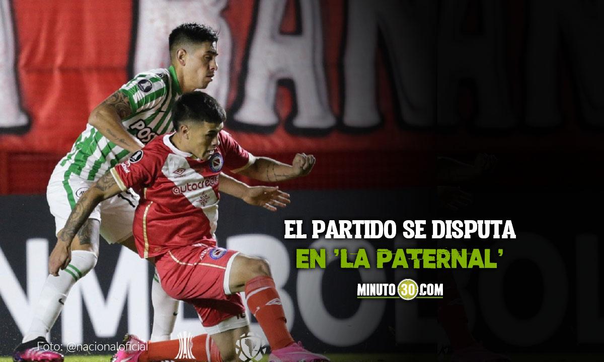 Argentinos Juniors vs Atletico Nacional 14