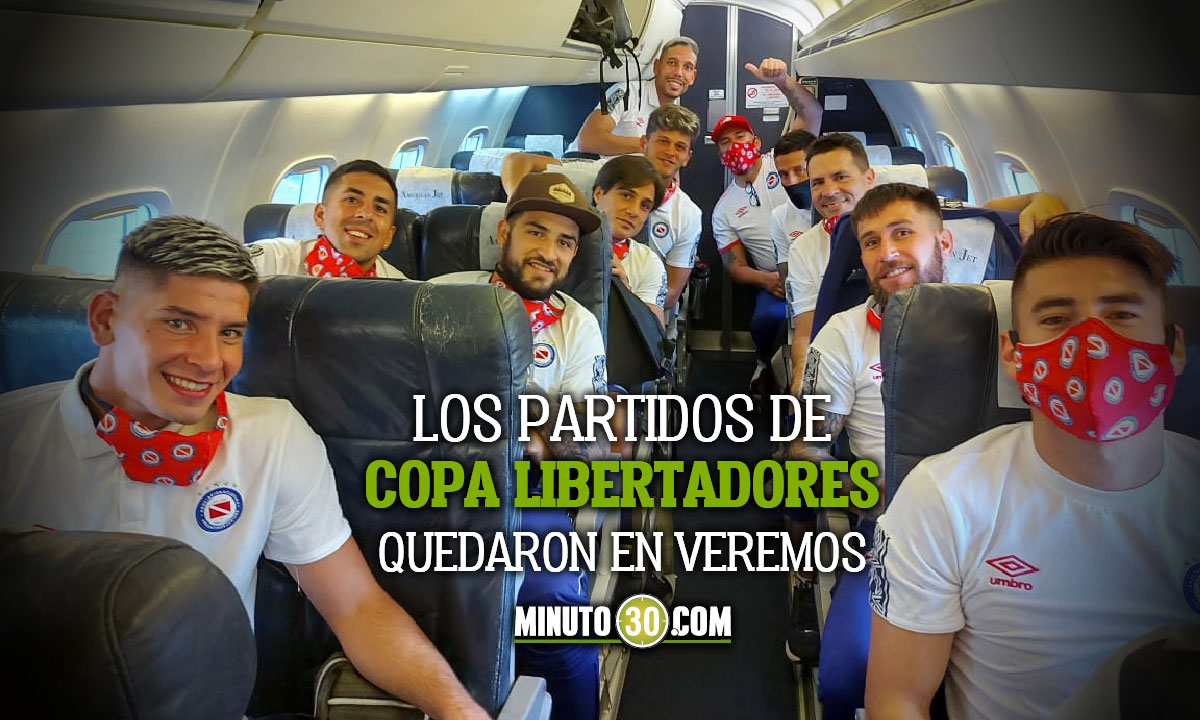 Argentinos Juniors y River Plate no viajaran a Colombia