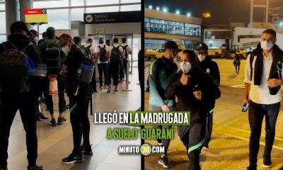Asi fue el viaje de Atletico Nacional a Paraguay