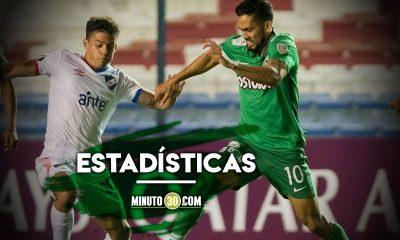 Asi le ha ido a Atletico Nacional con los equipos de Uruguay