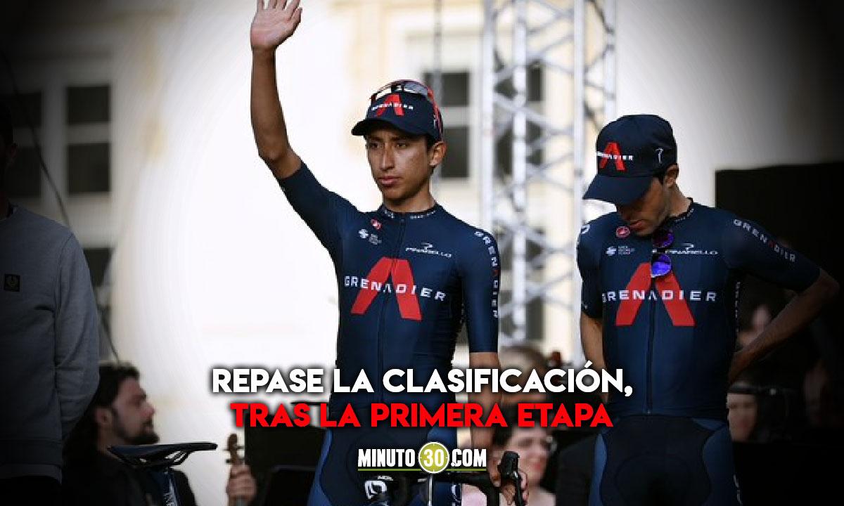 Asi les fue a los ciclistas colombianos en el inicio del Giro de Italia