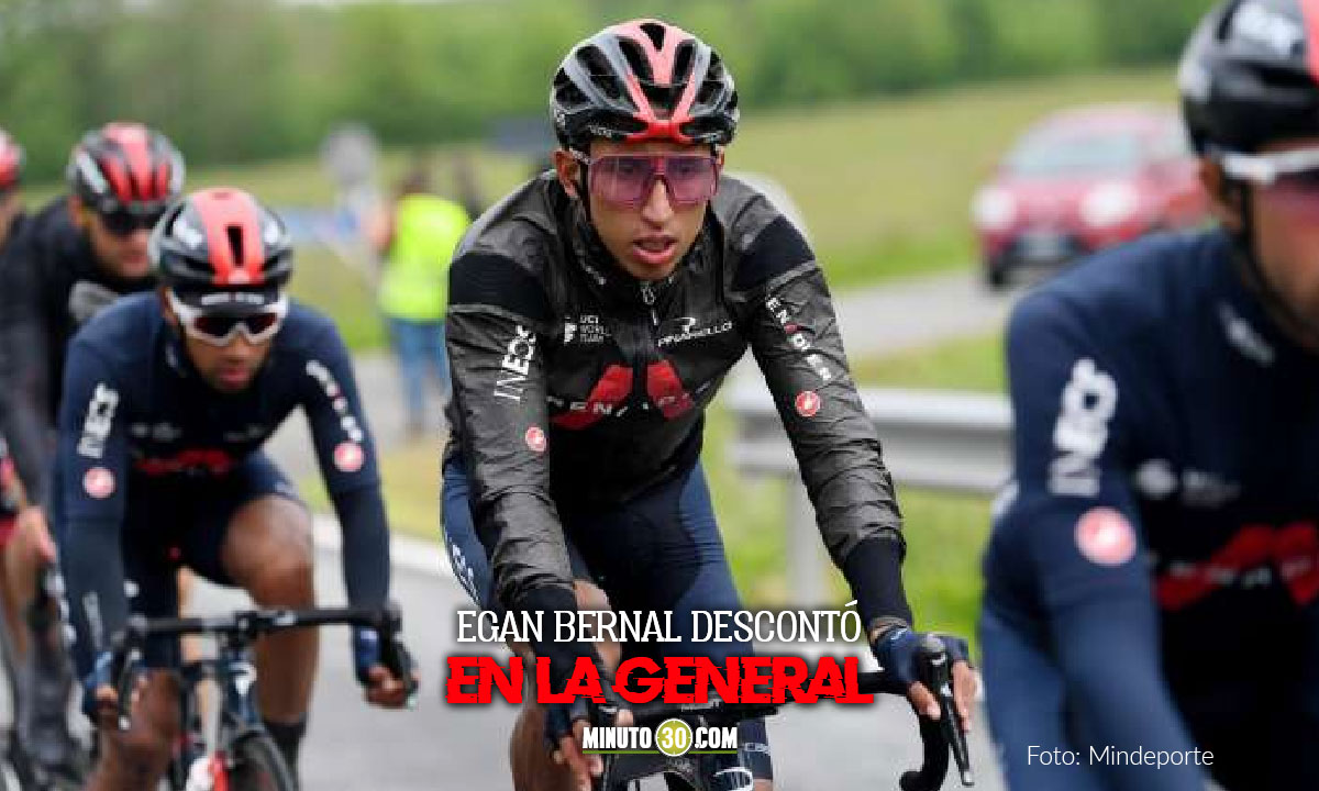 Asi les fue a los ciclistas colombianos en la etapa 4 del Giro de Italia