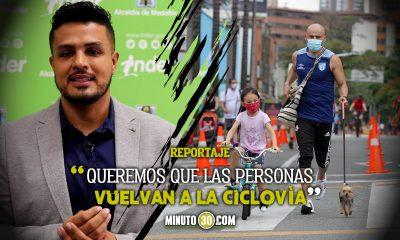 Asi sera el regreso de las ciclovias en la ciudad de Medellin