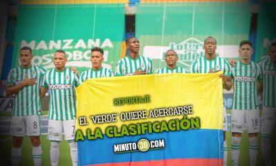 AtlEtico Nacional tiene clara la importancia del partido con Argentinos Juniors