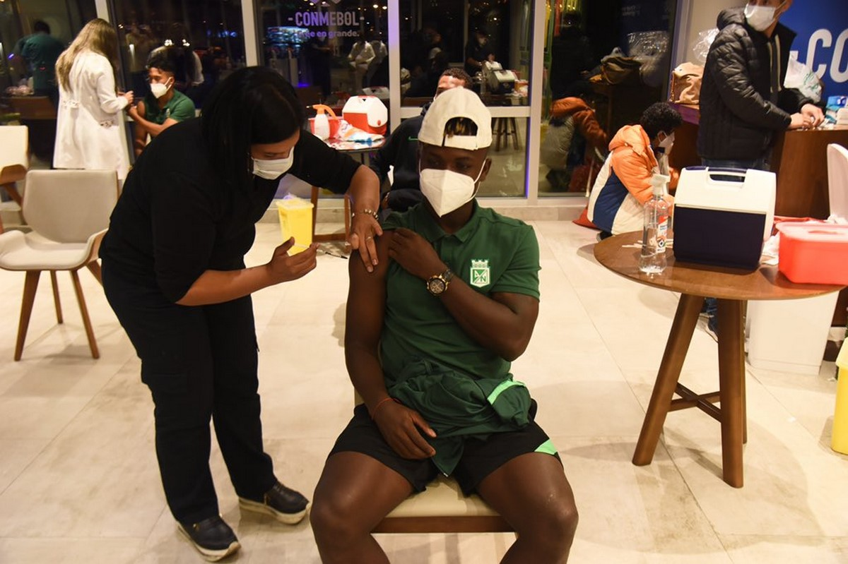Atletico Nacional favorecido con la vacunacion Conmebol 3