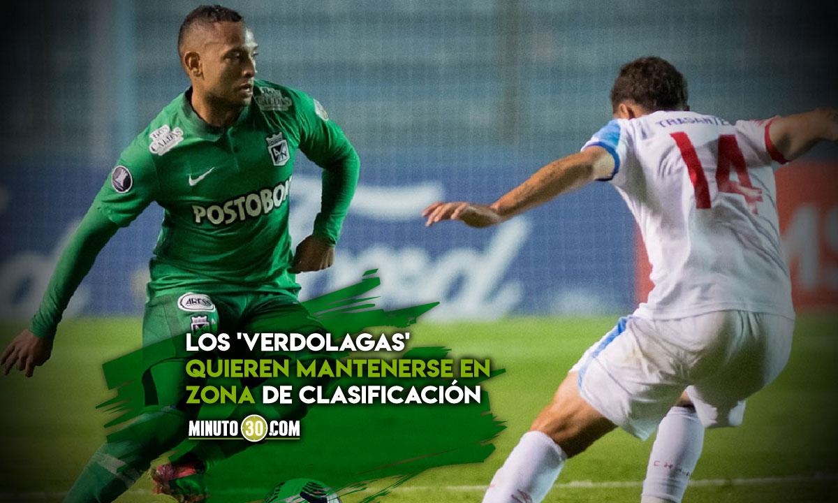 Atletico Nacional recibe a Nacional de Uruguay con la obligacion de ganar