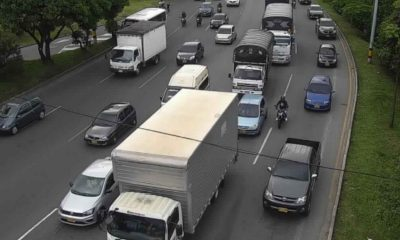 ¡Pilas! Cerrada la Autopista Sur a la altura de la calle 10, por movilización ciudadana
