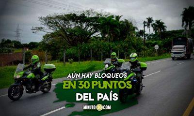 Autoridades han desbloqueado 508 vías en Colombia