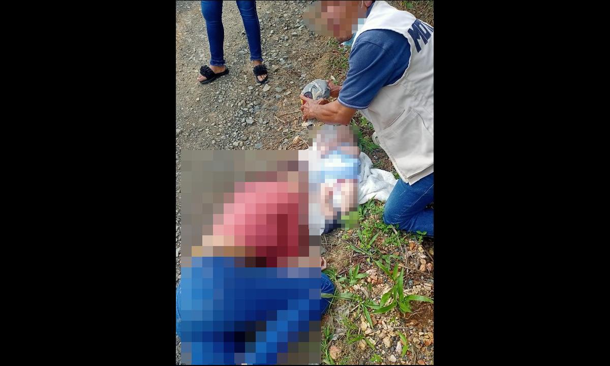 [Fotos] Sicarios asesinaron a un hombre y una mujer que tenía su hija en br