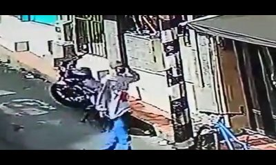 [Video] ¡Qué liso! Así se robaron una bicicleta en San Antonio de Prado