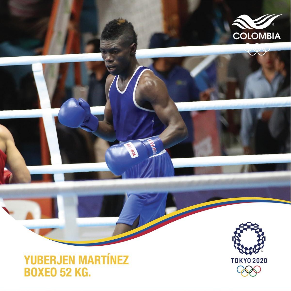 Boxeador Yuberjen Martinez Copiar