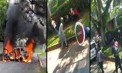 [Videos]Caos en Cali: Hay enfrentamiento entre indígenas y civiles