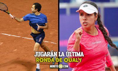 Camila Osorio y Daniel Galan a un paso del cuadro principal de Roland Garros