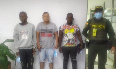 Cárcel para tres sujetos señalados de robar en un cajero automático de Cali durante las protestas