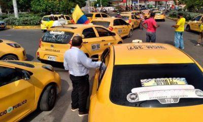 Cartagena-taxistas-paro
