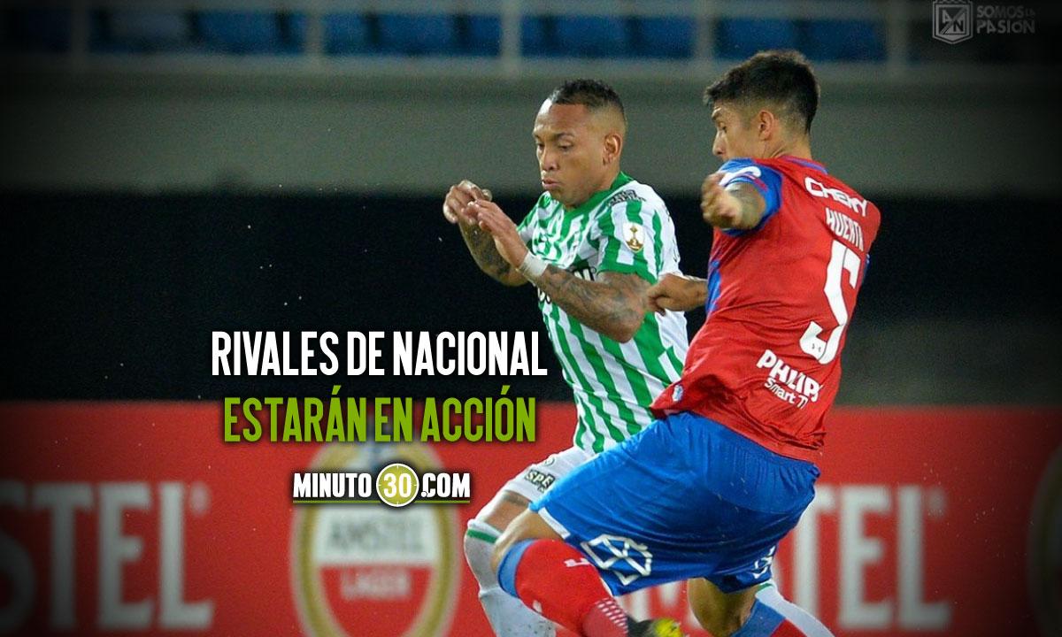 Cinco partidos en la programacion de este miercoles en la Copa Libertadores