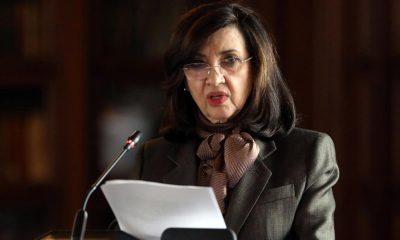 La canciller de Colombia, Claudia Blum. EFE/ Carlos Ortega /ARCHIVO