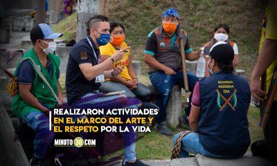 Con cultura de paz y reconciliación la Alcaldía de Medellín acompañó la Minga Indígena
