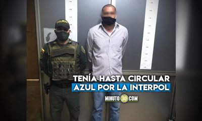 Con orden de captura por feminicidio y andaba bien 'campante' en Puerto Berrio