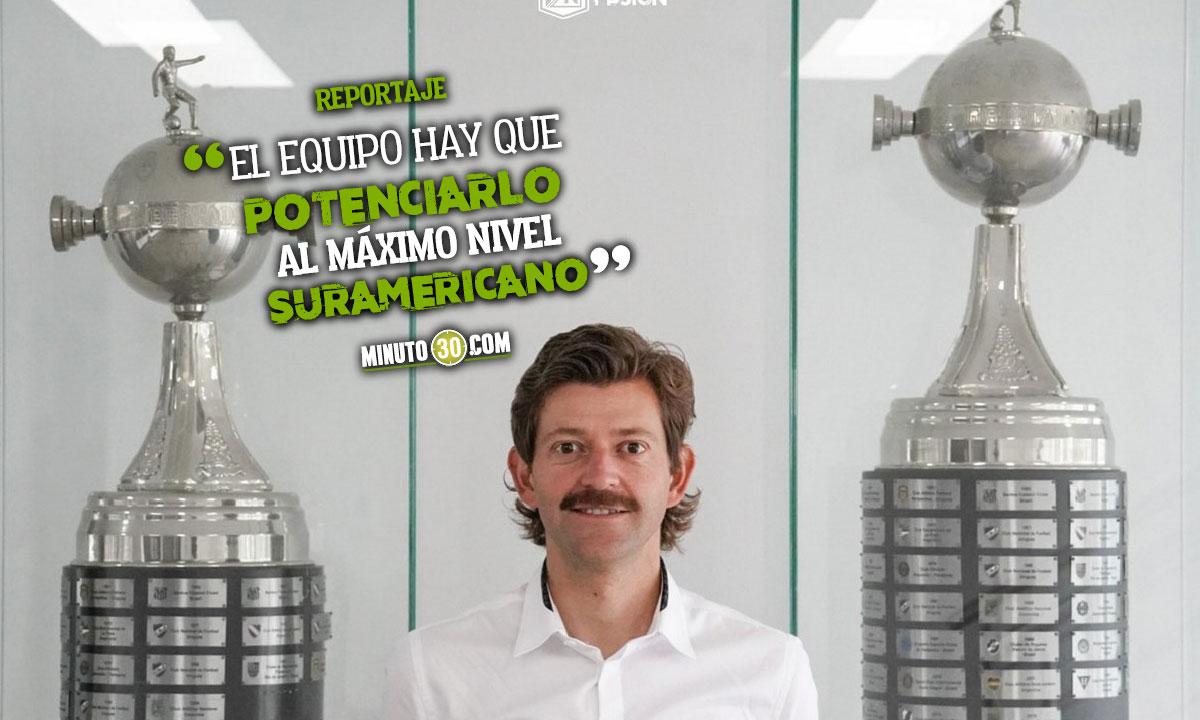 Confiemos en que viene una gran Epoca para el club Emilio Gutierrez