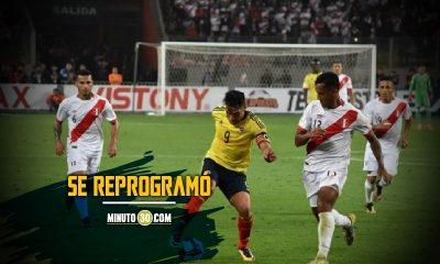 Conmebol cambio horario de partido entre Peru y Colombia