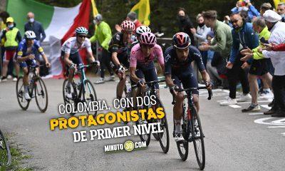 Daniel Martinez puso el ritmo en la etapa 20 del Giro de Italia