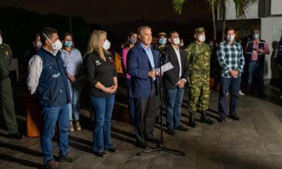 "[Video] Presidente Duque ordenó un ""máximo despliegue de asistencia militar a la Policía"" en Cali"
