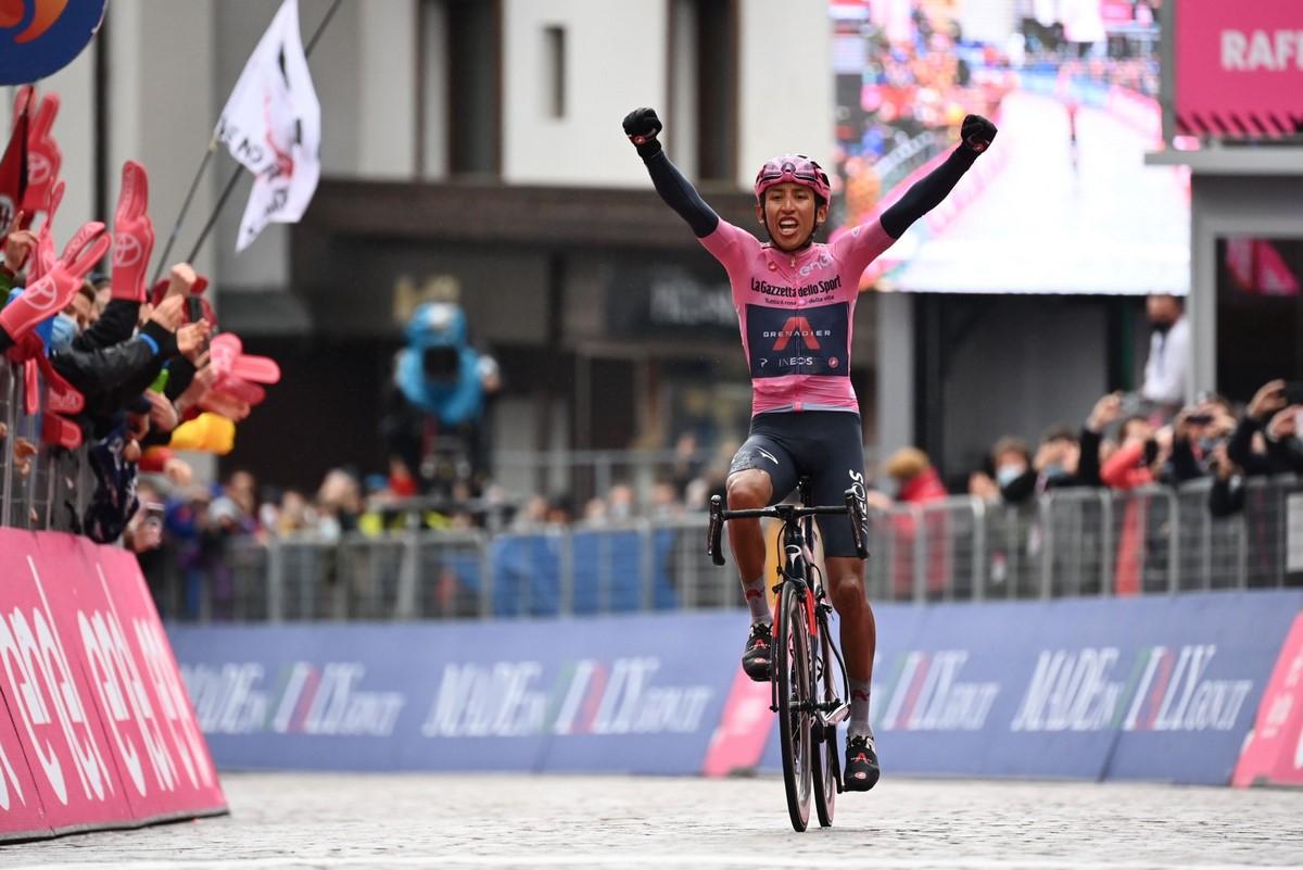 Egan Bernal Giro de Italia 1