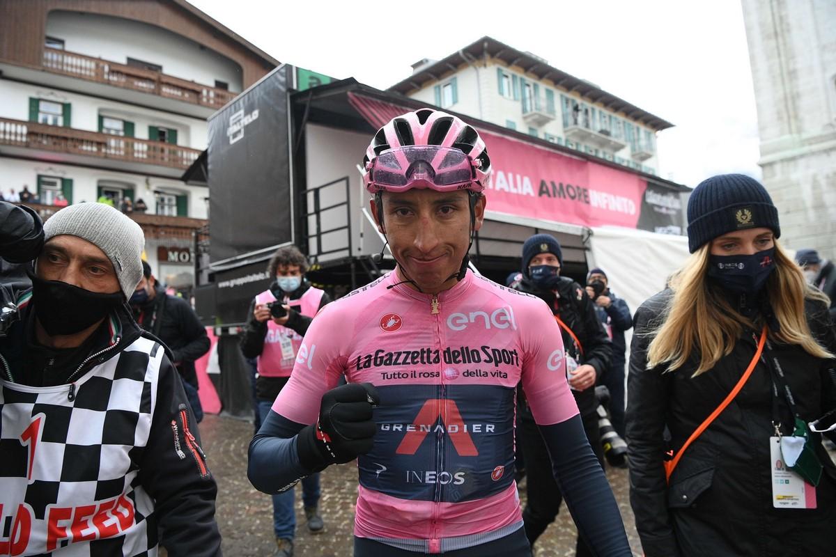 Egan Bernal Giro de Italia 2