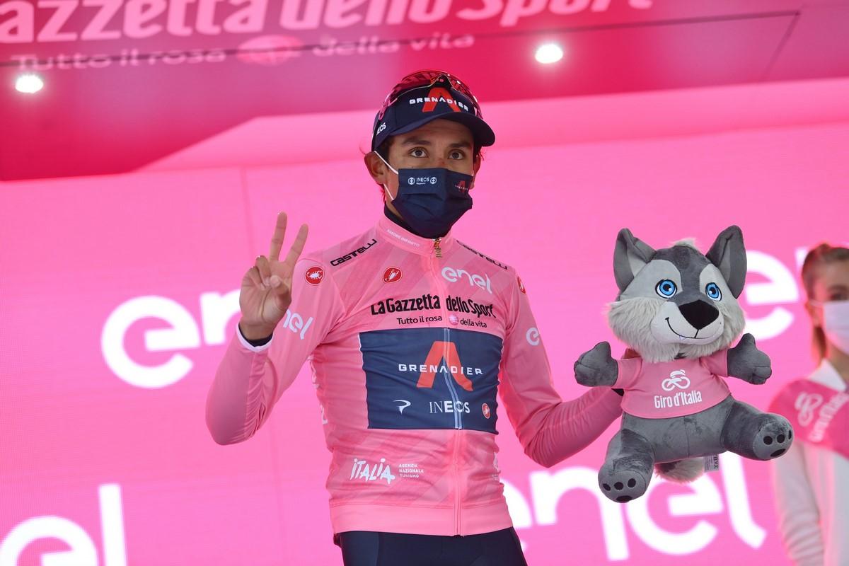 Egan Bernal Giro de Italia 3
