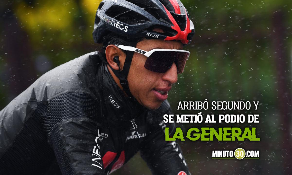 Egan Bernal recupero su protagonismo en el Giro de Italia