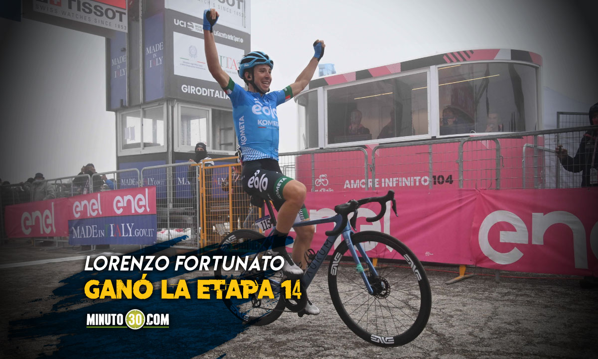 Egan Bernal respondio al ataque y amplio diferencia en el Giro de Italia