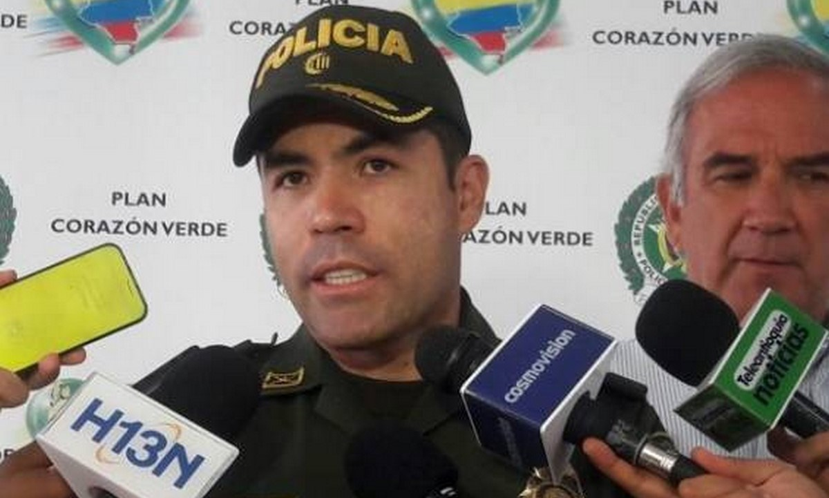 El brigadier General Juan Carlos Rodriguez Acosta cali