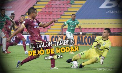 El paro nacional tambien detuvo en futbol profesional colombiano