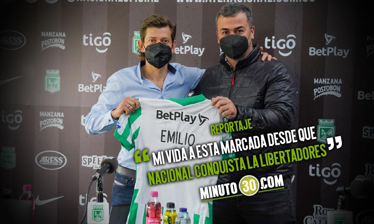 Emilio Gutierrez dice que es un sueno sueno cumplido llegar a Atletico Nacional