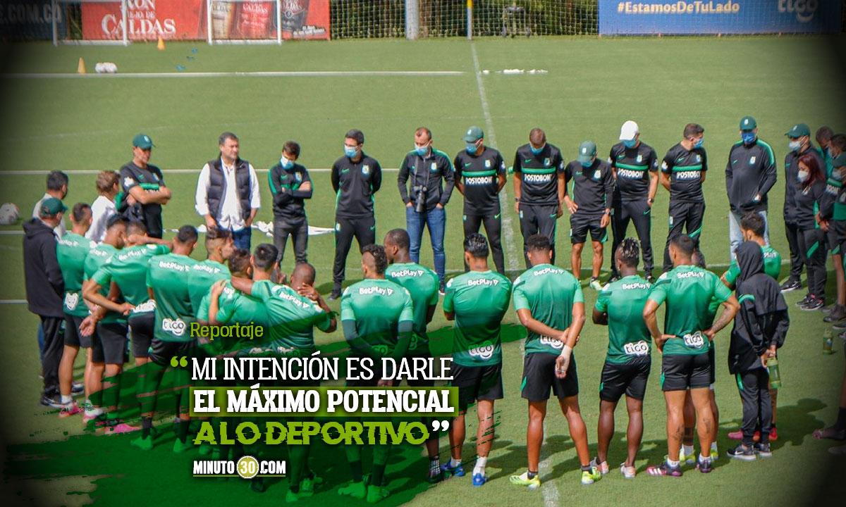 Emilio Gutierrez quiere acompanar muy de cerca a Guimaraes