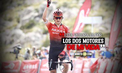Emotivo mensaje de Winner Anacona tras triunfo en Pollensa