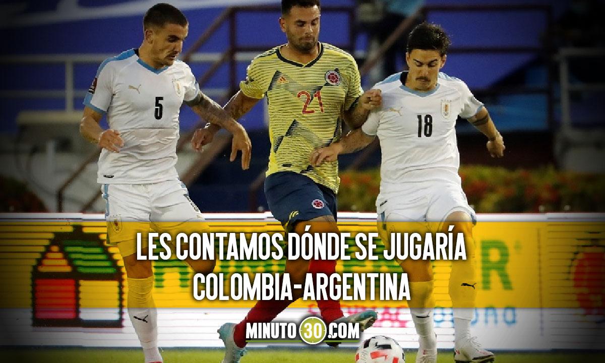 En Colombia tampoco se jugarian partidos de Eliminatorias Sudamericanas