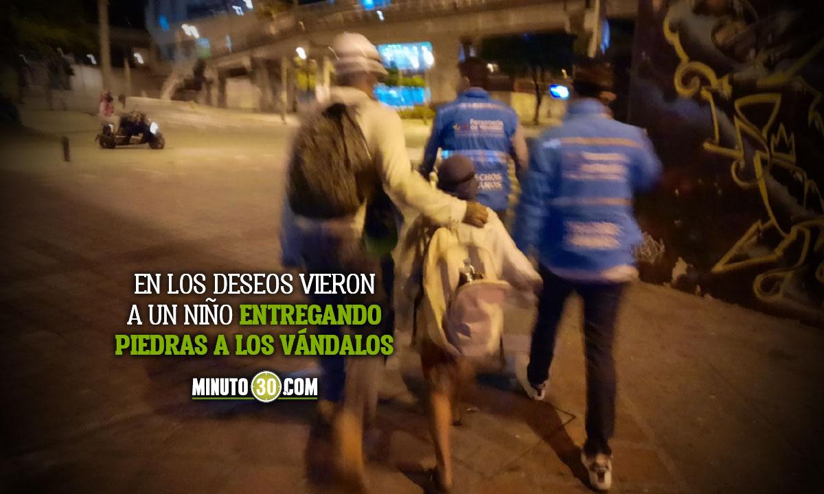 Medellín niños