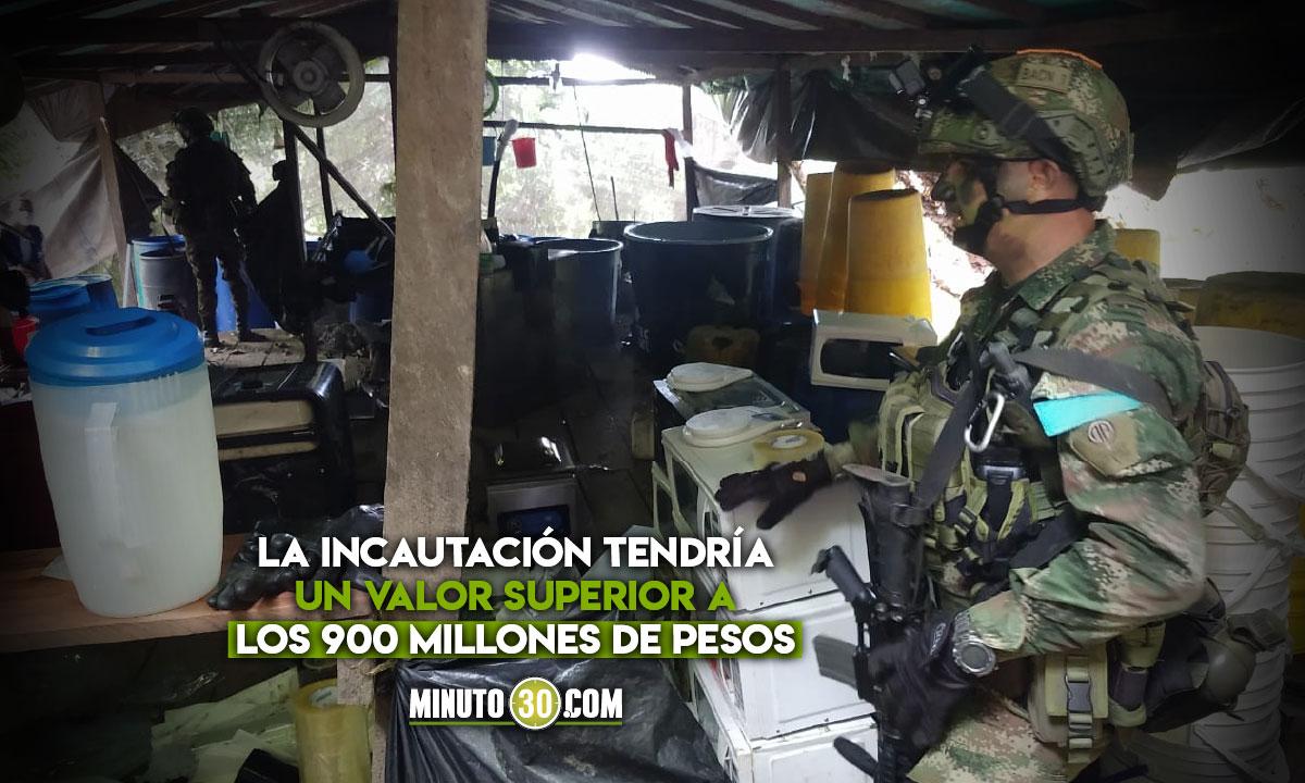 En Uraba han incautado 11 mil kilogramos de droga