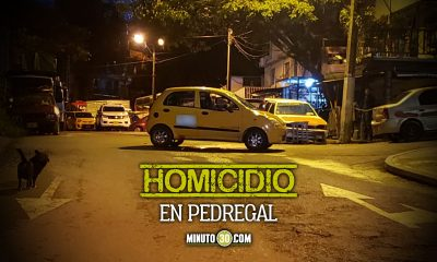 Encendieron a bala a los ocupantes de un taxi uno murio y dos mas resultaron heridos