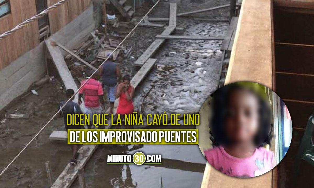 ¡Qué pesar! Encontraron niña de 4 años ahogada tras la creciente del Río Atrato en Riosucio, Chocó