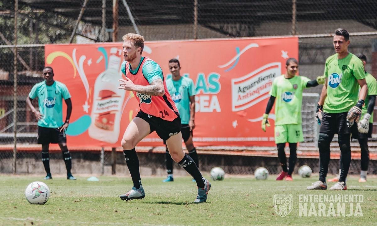 Entrenamiento de Envigado FC