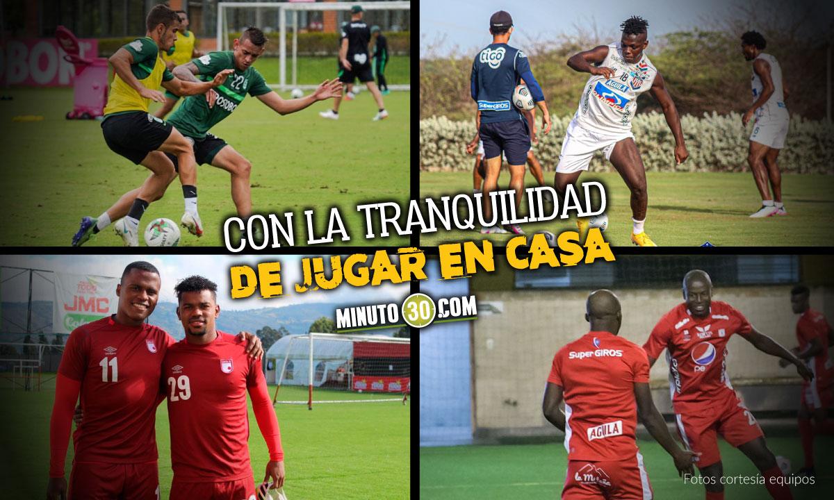 Equipos colombianos preparan partidos de Copa Libertadores