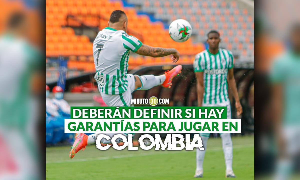 Equipos colombianos tienen hasta este sabado decirle a Conmebol donde jugaran