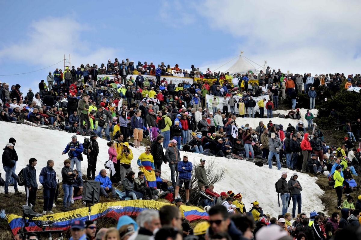 Espectadores Giro de Italia 1