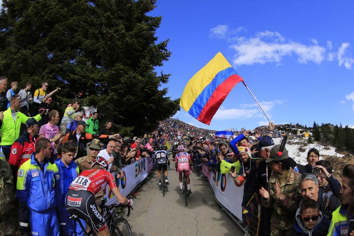 Espectadores Giro de Italia 2