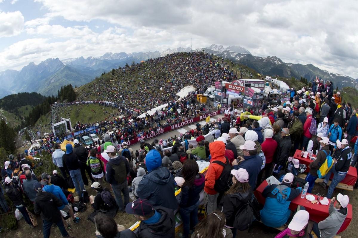 Espectadores Giro de Italia 3