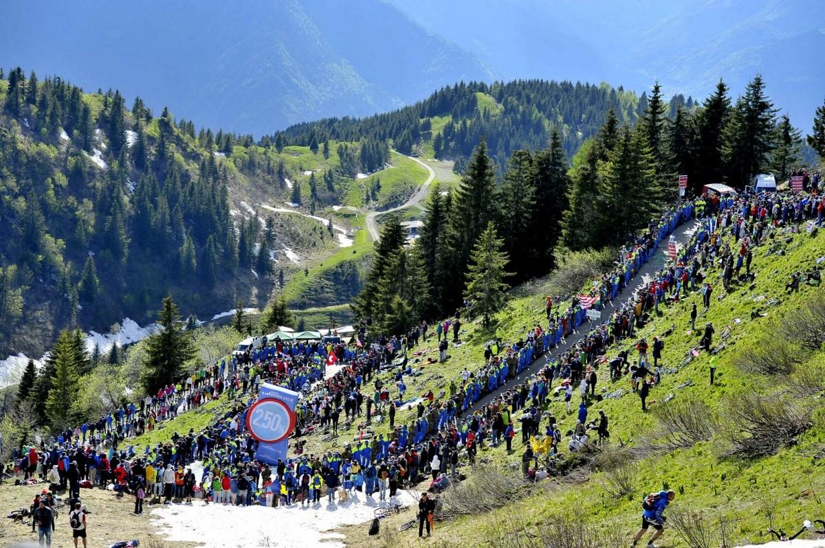 Espectadores Giro de Italia 4