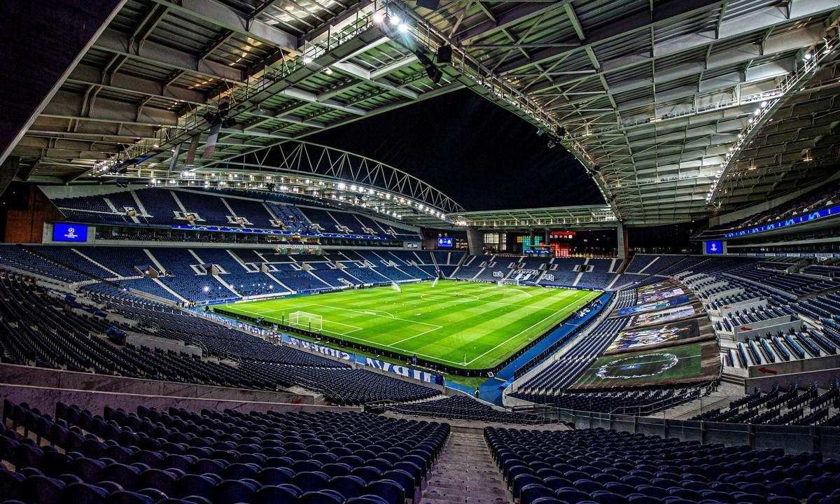Estadio do Dragao in Porto